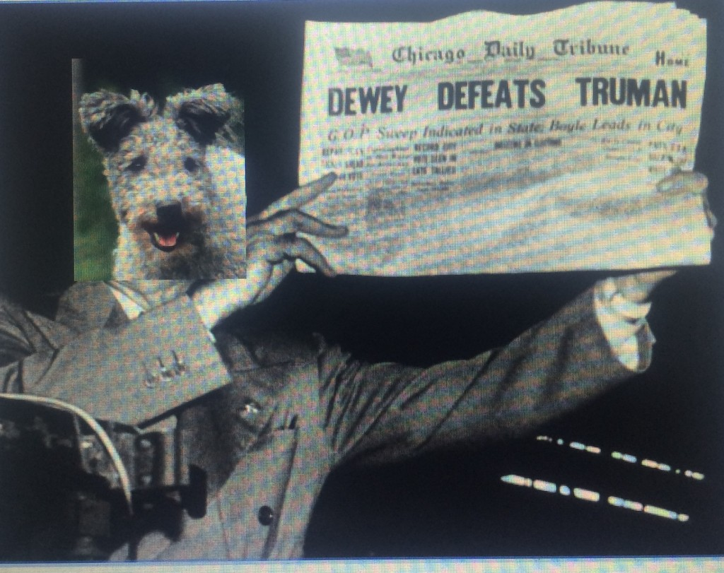 Dewey Defeats Truman...Not Again!? Who has been your expert?