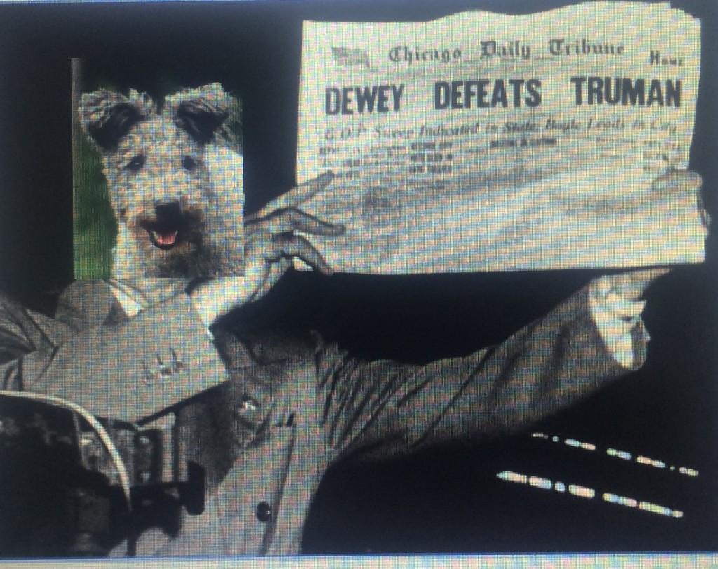 Dewey Defeats Truman...Not Again!? Who has been your expert?