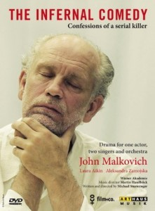 John Malkovich's play catered to the fascination of Americans with murder and violence
