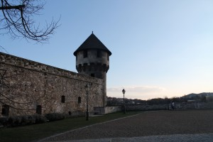 Guard tower in the Castle