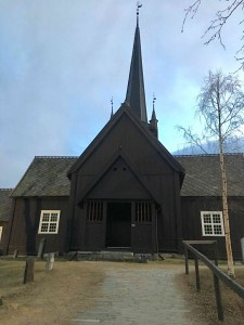 Lesja Church, the place of the first election in Norway