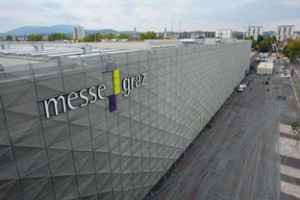 The Messe Center in Graz, the dog show site. I live only a few blocks away.