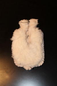 Sheepskin hot bottle cover (rubber bottle included) style might slightly varies $65