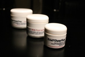 Goat's milk face cream made with our goat's milk and natural ingredients