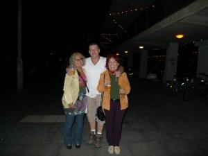 My sister Zsuzsanna, my nephew Raymond and me.