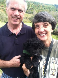 Marika, Paul and Acel before heading home to New Jersey.  They will soon be joining the HPCA via complimentary membership from Catskill Pumi Kennel