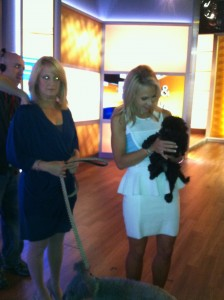 """Fox and Friends"" Morning Show with the Catskill Pumi Globe Trotter Pups"