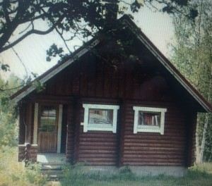 my log cabin in Jorointo just south of Kuopio