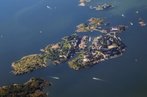 Suomennia, the six-island historic fortress network of Helsinki