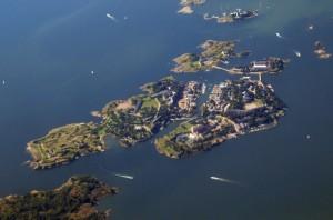 Suomennia, the six-island historic fortress network of Helsinki