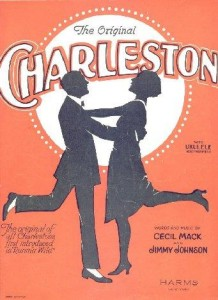 Charleston, the city, the dance and flat chests