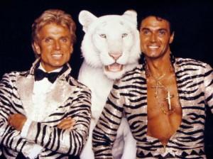 Sigfried and Roy. German born American pop culture essentials