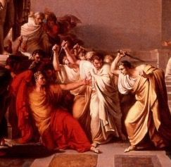 One of history's and world litareture's highbrow political murder (Julius Caesar)