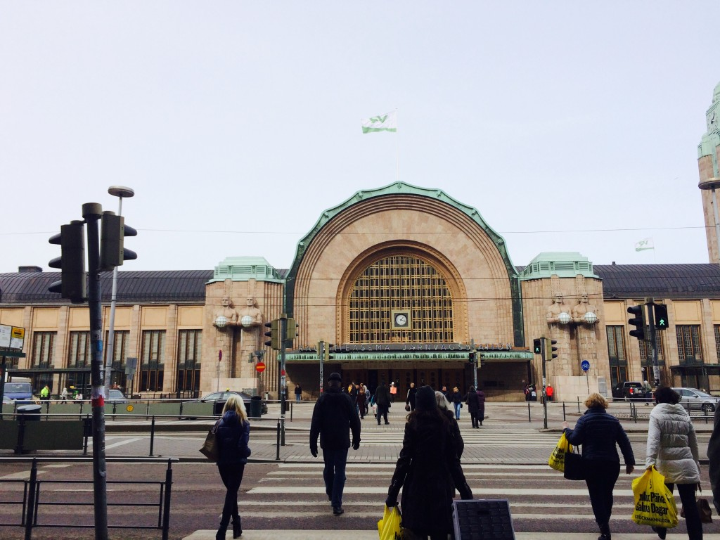 The Central Railway Station of Helsinki