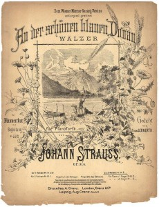 The cover of Johann Strauss II's